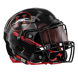 Healdsburg High School Football Helmet