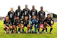 FOOTBALL - FRIENDLY GAMES 2010/2011 - STADE BRESTOIS v LILLE OSC - 31/07/2010 - PHOTO PASCAL ALLEE / DPPI - BACK ROW (LEFT TO RIGHT) : FLORENT BALMONT - MOUSSA SOW - ADIL RAMI - FRANCK BERIA AND EMERSON DA CONCEICAO                                                                                        FRONT ROW (LEFT TO RIGHT): LUDOVIC OBRANIAK - PIERRE ALAIN FRAU - MATHIEU DEBUCHY - MICKAEL LANDREAU - RIO MAVUBA AND EDEN HAZARD (LILLE)