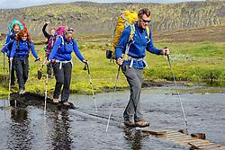 09-07-2014 ISL: Iceland Diabetes Challenge Dag 5, Emstrur<br /> Van Alftavatn naar Emstrur / Eddy