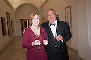 CATHERINE WEISS; MARK WEISS, Mark Weiss dinner, Nationaal Portrait Gallery. London. 15 October 2012.