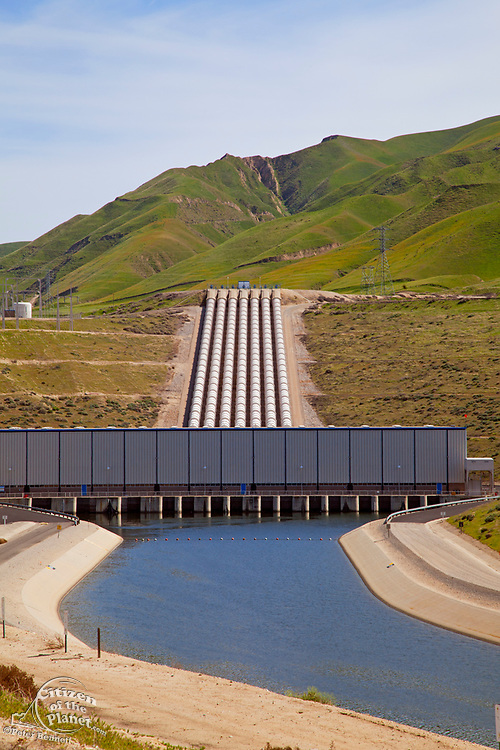 John R. Teerink Wheeler Ridge Pumping Plant, part of the California State Water Project, is located at the southern end of the San Joaquin Valley and pumps water up 233 feet from the Califiornia Aqueduct