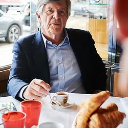 Jean-Louis Bouchard, chairman and CEO of Econocom, during an interview at Dessirier restaurant. Paris, France. June 18, 2019. <br /> Jean-Louis Bouchard, PDG d'Econocom, durant une interview au restaurant Dessirier. Paris, France. 18 juin 2019.