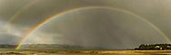 Double rainbow - Tinopai, Kaipara Harbour.