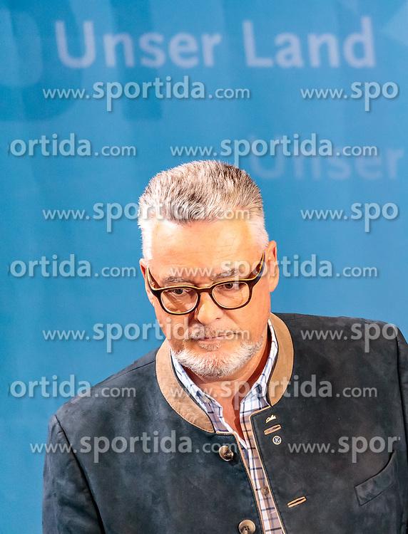 25.02.2018, Innsbruck, AUT, Landtagswahl in Tirol 2018, im Bild Spitzenkandidat Josef Schett (impuls-tirol) // during TV Statements for the State election in Tyrol 2018. Innsbruck, Austria on 2018/02/25. EXPA Pictures © 2018, PhotoCredit: EXPA/ JFK