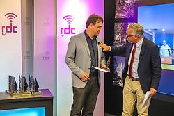 """Prêmio Press 2020, ocorrido em formato """"Live"""" nos estúdios da RDC TV. Foto: Marcos Nagelstein/ Agência Preview"""