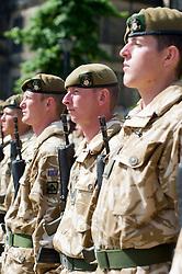 SGT CHRIS EDLEY Freedom Parade 3rd Battalion The Yorkshire Regiment Sheffield 23 June 2010 .Images © Paul David Drabble.