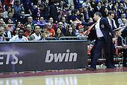 DESCRIZIONE : Milano Eurolega Euroleague 2013-14 EA7 Emporio Armani Milano Olympiacos Piraeus<br /> GIOCATORE : Luca Banchi<br /> CATEGORIA : Coach<br /> SQUADRA :  EA7 Emporio Armani Milano<br /> EVENTO : Eurolega Euroleague 2013-2014 GARA : EA7 Emporio Armani Milano Olympiacos Piraeus<br /> DATA : 09/01/2014 <br /> SPORT : Pallacanestro <br /> AUTORE : Agenzia Ciamillo-Castoria/I.Mancini<br /> Galleria : Eurolega Euroleague 2013-2014 <br /> Fotonotizia : Milano Eurolega Euroleague 2013-14 EA7 Emporio Armani Milano Olympiacos Piraeus <br /> Predefinita