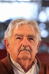 May 6, 2017 - Pepe Mujica ex-presidente do Uruguai durante a II Feira Nacional da Reforma Agrária no Parque da Água Branca em São Paulo (SP) neste sábado (06), organizada pelo Movimento dos Trabalhadores Rurais Sem Terra  (Credit Image: © Jales Valquer/Fotoarena via ZUMA Press)