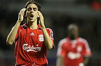 Photo: Paul Greenwood.<br /> Liverpool v Marseille. UEFA Champions League, Group A. 03/10/2007.