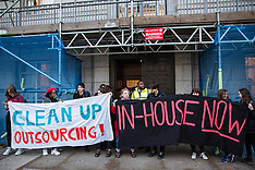 2019-03-18 Protest against Landlord Conference at UoL