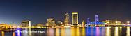 63412-01012 St. Johns River and Jacksonville Florida skyline at twilight Jacksonville, FL