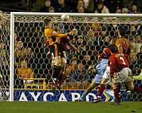 Fotball<br /> Omkamp FA Cup<br /> 13.01.2004<br /> Foto: Digitalsport<br /> NORWAY ONLY<br /> <br /> KENNY MILLER WOLVES SCORES 1ST GOAL<br /> WOLVERHAMPTON WANDERERS V KIDDERMINSTER HARRIERS FA CUP 3RD ROUND REPLAY 13/01/04