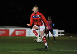 Jess Woolley of Bristol City warms up at Stoke Gifford Stadium - Mandatory by-line: Paul Knight/JMP - 05/12/2018 - FOOTBALL - Stoke Gifford Stadium - Bristol, England - Bristol City Women v Aston Villa Women - FA WSL Continental Tyres Cup