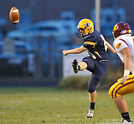 Avon Lake High School at North Ridgeville High School varsity football on September 20, 2013. Images © David Richard and may not be copied, posted, published or printed without permission.