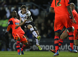 Derby County's Craig Bryson shoots at goal - Photo mandatory by-line: Matt Bunn/JMP - Tel: Mobile: 07966 386802 16/02/2014 - SPORT - FOOTBALL - IPro Stadium - Pride Park - Derby - Derby County v Bolton - Sky Bet Championship