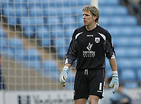 Photo: Lee Earle.<br /> Coventry City v Barnsley. Coca Cola Championship. 17/03/2007.Barnsley keeper Nick Colgan looks dejected as they lose to Coventry.