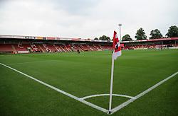 General views inside the stadium - Mandatory by-line: Nizaam Jones/JMP - 21/07/2018 - FOOTBALL - Jonny-Rocks Stadium - Cheltenham, England - Cheltenham Town v Birmingham City - Pre-season friendly