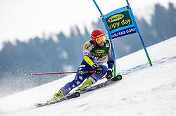 TAHIRI Albin of Kosovo competes during the Audi FIS Alpine Ski World Cup Men's Giant Slalom 58th Vitranc Cup 2019 on March 9, 2019 in Podkoren, Kranjska Gora, Slovenia. Photo by Matic Ritonja / Sportida