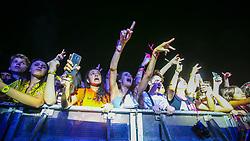 Sidoka durante a 25ª edição do Planeta Atlântida. O maior festival de música do Sul do Brasil ocorre nos dias 31 Janeiro e 01 de fevereiro, na SABA, praia de Atlântida, no Litoral Norte do Rio Grande do Sul. FOTO: <br /> Gustavo Granata/ Agência Preview