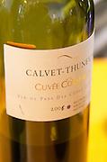 Cuvee Constance. Domaine Calvet Thunevin. Roussillon, France