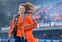 Den Bosch - Rabo fandag 2019 . hockey clinics met de spelers van het Nederlandse team. opkomst van international Josine Koning (Ned) .   COPYRIGHT KOEN SUYK