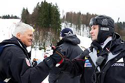 Ante Kostelic and Vedran Pavlek of Croatia after the 10th Men's Slalom - Pokal Vitranc 2013 of FIS Alpine Ski World Cup 2012/2013, on March 10, 2013 in Vitranc, Kranjska Gora, Slovenia. (Photo By Vid Ponikvar / Sportida.com)