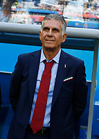Coach of Iran Carlos Queiroz<br /> Saint Petersburg 15-06-2018 Football FIFA World Cup Russia  2018 <br /> Morocco - Iran / Marocco - Iran <br /> Foto Matteo Ciambelli/Insidefoto