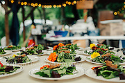 Secret Supper Club, full moon 5 course Paleo Garden dinner