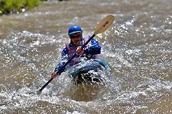 Whitewater Sports, Kayaker, Hoback River, Jackson Hole, Wyoming