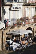 near the port cafe outside porto portugal