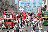 London Transport Museum Regent Street Bus Cavalcade