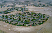 Oil industry in Ras Tanura area, Dharhan Saudi Arabia,  new residential housing area in desert  1979