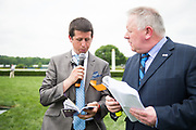 April 29, 2017, 22nd annual Queen's Cup Steeplechase. Kevin Tobin and Mark Johnson