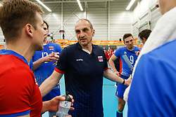 20170525 NED: 2018 FIVB Volleyball World Championship qualification, Koog aan de Zaan<br />Miroslav Palgut, headcoach of Slovakia <br />©2017-FotoHoogendoorn.nl / Pim Waslander