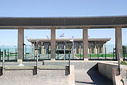 Israel, Jerusalem, The Knesset, Israeli parliament. A view from the main entrance