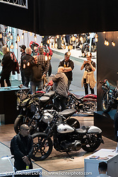 Swiss-Moto Customizing and Tuning Show. Zurich, Switzerland. Sunday, February 24, 2019. Photography ©2019 Michael Lichter.