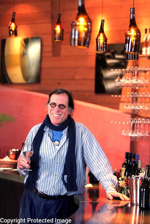 Bonny Doon Vineyards founder Randall Graham.<br /> Photo by Shmuel Thaler <br /> shmuel_thaler@yahoo.com www.shmuelthaler.com
