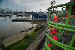Crab Traps at Jessie's Ilwaco Fish Co., Ilwaco, Washington, US