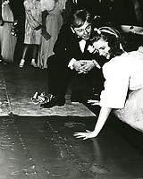 1939 Judy Garland's handprint ceremony at Grauman's Chinese Theatre