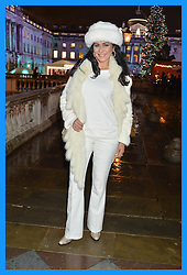 WILNELIA FORSYTH at Skate At Somerset House with Fortnum & Mason on 16th November 2016.