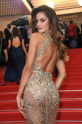 Cannes - Naked Back - Izabel Goulart attending the Burning Premiere held at the Palais des Festivals as part of the 71st annual Cannes Film Festival on May 16, 2018 in Cannes, France. Photo by Aurore Marechal/ABACAPRESS.COM