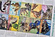 Nederland, Arnhem, 9-4-2013Details over dierentuin Burgers Zoo ter gelegenheid van het 100-jarig bestaan. Postnl heeft postzegels uitgegeven met afbeeldingen van dieren.Foto: Flip Franssen/Hollandse Hoogte