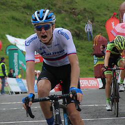 12-07-2019: Wielrennen: Oostenrijk: Kitzbueler Horn<br /> Ritzege voor de Russische klimmer Aleksandr Vlasov in de slotetappe
