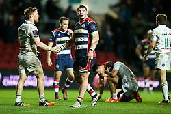 James Phillips of Bristol Rugby - Rogan Thomson/JMP - 11/12/2016 - RUGBY UNION - Ashton Gate Stadium - Bristol, England - Bristol Rugby v Pau - European Rugby Challenge Cup.