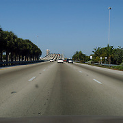 Vakantie Miami Amerika, snelweg