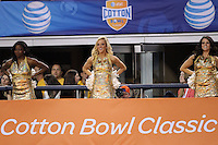 Oklahoma State University vs. Missouri - Cotton Bowl NCAA college football game, Friday, Jan. 3, 2014, in Arlington, Texas.