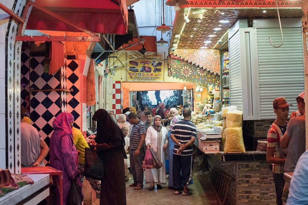 Street scenes in the Medina in Meknes, Morocco Aug 15, 2016. Photo Ken Cedeno