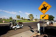 UNITED STATES-SUN CITY- Golf course in Sun City, a retirement community in Arizona. PHOTO: GERRIT DE HEUS .VERENIGDE STATEN-SUN CITY-  Sun City. PHOTO GERRIT DE HEUS