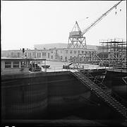 "ackroyd-P032-23 ""Drydock pictures. September 18, 1964"" (Swan Island, Ground photos)"