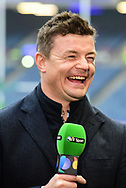 Brian O'Driscoll in relaxed mood before commentary for the European Rugby Challenge Cup match between Gloucester Rugby and Stade Francais at BT Murrayfield, Edinburgh, Scotland on 12 May 2017. Photo by Kevin Murray.
